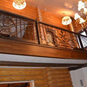 74_лестница с кованными перилами_3