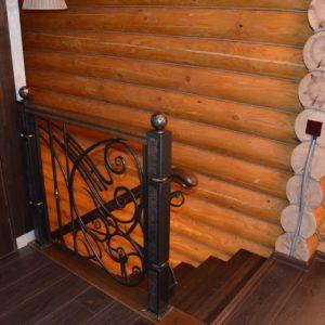 74_лестница с кованными перилами_5
