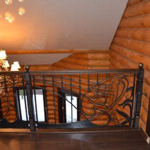 74_лестница с кованными перилами_6
