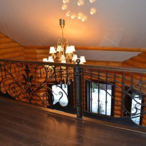 74_лестница с кованными перилами_7