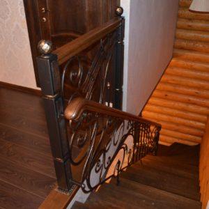 74_лестница с кованными перилами_8