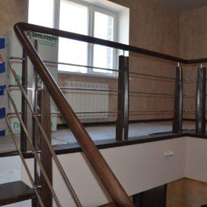 84_Стильная деревянная лестница_4