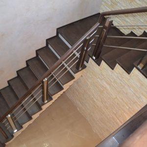 84_Стильная деревянная лестница_7