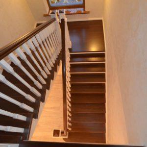134_Лестница массив дерева_6