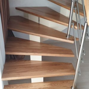 136_Лестница массив дерева_5