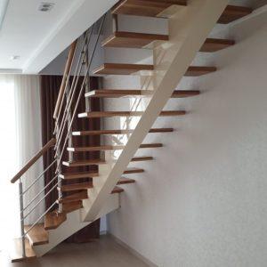 136_Лестница массив дерева_7