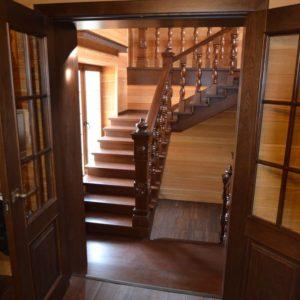 139_Лестница массив дерева_1