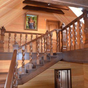139_Лестница массив дерева_2