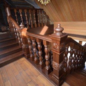 139_Лестница массив дерева_7