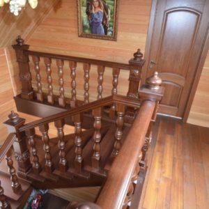 139_Лестница массив дерева_9